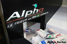 Alpha sorter