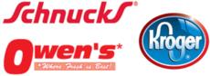 Kroger / Schnucks / Owen's Logo